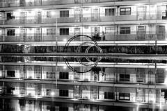 鏡 (Wilson Au | 一期一会) Tags: shekkipmei hongkong monochrome blackandwhite fujifilm xe2 fujinon xf1855mmf284rlmois night water reflection