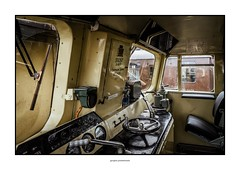 Class 33 locomotive (G. Postlethwaite esq.) Tags: class33 devon mineheadstation somerset sonya7mkii sonyalphadslr westsomersetrailway controls drivingcab fullframe locomotive mirrorless photoborder sliderssunday hss