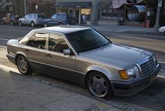 1992 Mercedes-Benz 500E (vetaturfumare - thanks for 2 MILLION views!!!) Tags: mercedesbenz mercedes 500e w124 mopf1 porsche sedan saloon 4drpcar losangeles ca grey sleek