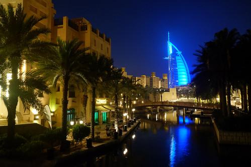 Night at Souk Madinat Jumeirah