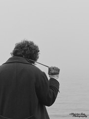 P1450033b (Christen Ann Photography) Tags: cosplay newt newtscamander fantasticbeasts harrypotter potterhead photography portrait beach fog weather auckland newzealand 2017 photoshoot cosplayphotoshoot mist potter magical