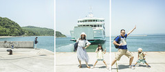 Polyptych | Happy Port (藍川芥 aikawake) Tags: polyptych port happy fish family kids children bluesky sea boat steamer ship ocean japan island play enjoylife happiness cute smart lovely wonderful great crazy amazing