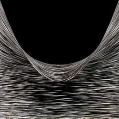 """""""...las olas de mi vida se alzan y rompen a mi alrededor"""". / """"...the waves of my life rise and break around me"""" (ix 2017) Tags: israfel67 méxico mexico abstract lines contraste contrast negro black ps editada edited cuadrada square olas waves virginiawoolf curves curve curva curvas"""