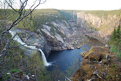 CF109 (Destination Labrador) Tags: churchillfalls scenery wildlife bowdoincanyon scenerywildlife summer 2017 randyletto2