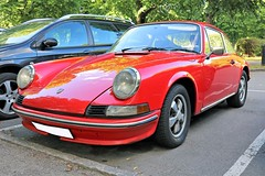 1973 Porsche 911 T (crusaderstgeorge) Tags: crusaderstgeorge cars classiccars 1973porsche911t 1973 porsche 911 t redcars red gävle gävleborg sweden sverige supercars classy