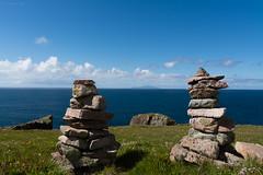 Foula stacks (kjbax) Tags: shetland culswick foula westerskeld scotland unitedkingdom gb