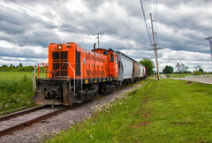 Returning to Speed (Wheelnrail) Tags: sind southern indiana railroad alco s2 local freight train trains locomotive louisville area shortline