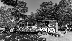 Orleans Island Quebec, Canada (Agirard) Tags: food truck bw nb zeiss bâtis batis18 2818mm 18mm full frame sony a7ii