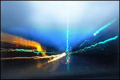 Driving through the morning rain (na_photographs) Tags: regen strase sicht sicherheit verkehr traffic lights streets