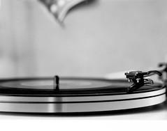 Put a Record On (MrMatt76) Tags: intrepid 4x5 largeformat black white arista 100 bwfp