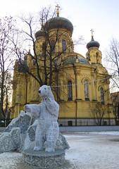 Warsaw-January'17 (23) (Silvia Inacio) Tags: polónia polska poland warsaw warszawa varsóvia church igreja bear urso cathedral catedral orthodox
