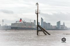 Daydream believer and a homecoming Queen (alun.disley@ntlworld.com) Tags: cunard queenelizabeth ship shipping cruiseliner cruiseliverpool city liverpool wirral newbrighton liverpoolwaterfront architecture portsandharbours shorelines tourism water