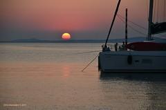 NAXOS  ISLAND (192) (Chris Maroulakis) Tags: cyclaces naxos island sunset sea nikond7000 chris maroulakis 2015