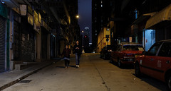 """""""time to go home"""" (hugo poon - one day in my life) Tags: xt2 23mmf2 hongkong saiyingpun secondstreet citynight goodnight ifc dark companions girls vanishing myfamiliarplaces westernstreet vacant shop taxi"""