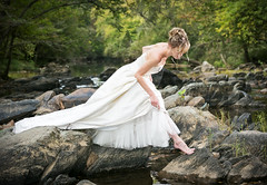 Q39A8290 (Oceanstatephotoman) Tags: water model ophelia white dress river