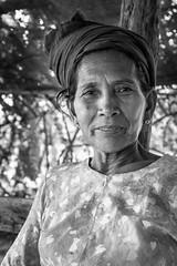 the farmer's wife (bogey!) Tags: burma natgeo ngc dryzone seeds portrait monochrome myaing fieldwork thanaka myanmar woman farmers