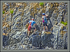Photo of Rock climbing