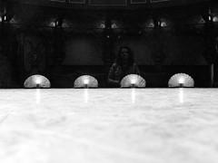 On stage (PJvdL) Tags: people light room inside indoors recreation stage public spotlights