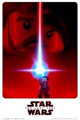 Star Wars: The Last Jedi - Custom Poster (Phoenix Custom Bricks) Tags: lego last jedi poster fan made