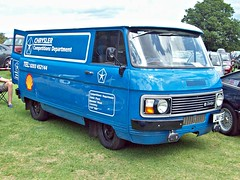 532a Dodge Spacevan (1980) - Chrysler Competition Dept. (robertknight16) Tags: dodge british 1980s commer rootes spacvan chrysler van stafford