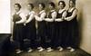 Dancing schoolgirls? (BasiliskSam) Tags: girls dancinggirls schoolgirls gymslips
