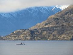 "TSS ""Earnslaw"" on Lake Wakatipu (Kevin Fenaughty) Tags: outdoor ship boat earnslaw lake wakatipu mountain snow benlomond otago newzealand"