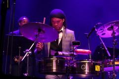 ¡Cubanismo! (2017) 09 (KM's Live Music shots) Tags: worldmusic cuba cubanson cubanismo timbales drums barbican
