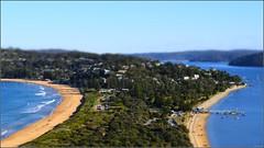"""Miniature Headland"" Palm Beach, Australia (July 2017) (Kommie) Tags: palm beach barrenjoey lighthouse miniature sydney australia fujifilm xpro2 fujinon 50140mm f28 r ois wr"