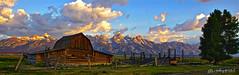 Grand Tetons and Mormon Barn Pano #1 (Anthony Kosobud - Photography) Tags: tetons grand teton mountains wyoming national park kosobud