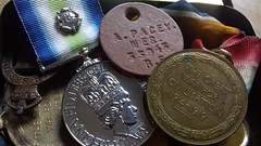 For Queen and country... (BAKAEDAR) Tags: macromondays queen falklandscampaign medals