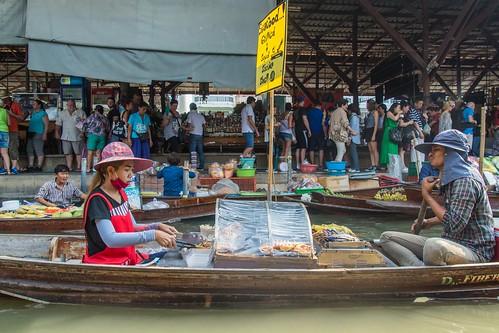 marche fottant damnoen saduak - thailande 27