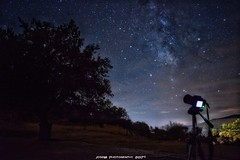 Cielo Alconchelero (JoseMi Campos) Tags: fotografia naturaleza paisaje nocturna noche vialactea nikon tokina d5300 alconchel estrellas landscape night
