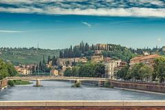 Verona, Italy (Dragstar70) Tags: ponte navi verona architectural town italy austrianphotographer landscape travel bridge