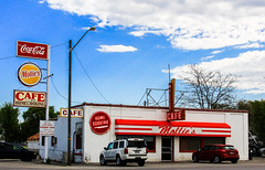 Mollies Cafe, Snowville Utah (Buck--Fever) Tags: utah northernutah snowvilleutah molliescafe cocacola cafe canon60d oldbuildings