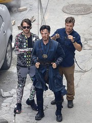 UHQ Avengers: Infinity War Set Pictures (anythingdoctorstrange) Tags: avengers infinity war atlanta usa 29 jun 2017 cast member benedict cumberbatch works during filming set is modeled after a new york city street celebrity entertainment arts georgia united states north america 60728923 benedictcumberbatch markruffalo avengersinfinitywar robert downey jr