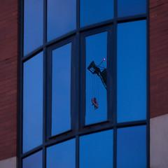 pull (Cosimo Matteini) Tags: cosimomatteini ep5 olympus pen m43 mft mzuiko60mmf28 london spitalfields building windows reflection crane pull