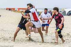 H6G64086 Ameland Invites v Baba Bandits (KevinScott.Org) Tags: kevinscottorg kevinscott rugby rc rfc beachrugby ameland abrf17 2017 vets veterans netherlands