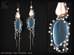 (Kunglers) Paty earrings AD topaz (AvaGardner Kungler) Tags: earrings shinyshabbysl kunglers avagardnerkungler avakungler secondlifejewelry statementjewelry