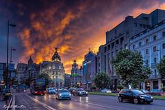 Madrid-Metropolis building (Raúl_M_M) Tags: 2017 madrid atardecer callealcalá metropolis