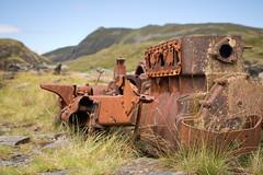 Rhosydd rusty winch 01 jul 17 (Shaun the grime lover) Tags: wales derelict engine machinery mountain rusty summer cwmorthin slate rhosydd winch