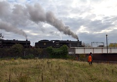 44871 (colinirwinphotography) Tags: station train steam incline colin irwin 44871 elr gala winter bury east lancs railway irwellvale manchester victoria lights