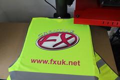 Creative fx High Vis printed 3 (Creative FX www.fxuk.net) Tags: workwear embroidery embroidered design designer printedlogo logo print carwrap van wrap creative fx