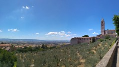 Santa Chiara - Assisi (mafe71) Tags: assisi umbria santa chiara church landscape paesaggio ulivi ulivo olive view