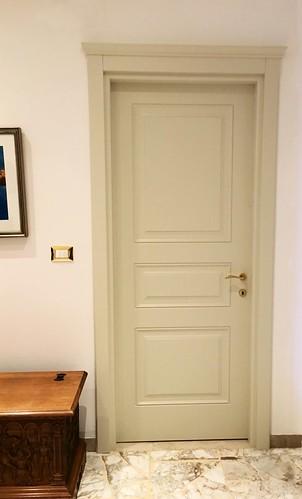 Porta interna pantografata a tre pannelli - Linea Opera