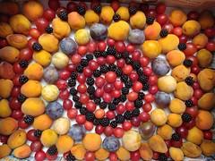 Mandala of fruits' earth (Scagliediterra) Tags: fruit frutta estate summer albicocche prugne more color colori art arte creation creatività nature natura