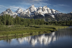 Schwabachers Landing (Grand Teton National Park) (♡✌ Kᵉⁿ Lᵃⁿᵉ ✌♡) Tags: geo:lat=4371220210 geo:lon=11067126453 geotagged beavercreek moose clouds grandtetonmountainrange grandtetonnationalpark grandtetons httpsenwikipediaorgwikigrandtetonnationalpark landscape marsh mountain mountains nationalpark reflection scenicview schwabacherroad schwabacherslanding sky snakeriver snowcap southcentralrockies tetoncounty touristattraction travelphotography trees usnationalpark usnationalparkservice unitedstates unitedstatesnationalpark usa water wy wyoming