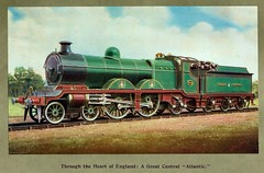 Great Central Railway (UK) - GCR 4-4-2 steam locomotive Nr. 264 (HISTORICAL RAILWAY IMAGES) Tags: gcr railway steam locomotive 264 442