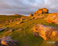 The Golden Saddle (www.neilporterphotography.com) Tags: saddle tor dartmoor sunset