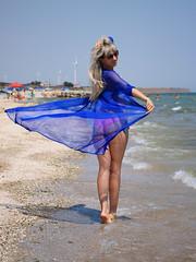 Katya (voffka.com.ua) Tags: море sea azov meer пляж приморский посад запорожская область курорт отдых катя girl woman девушка zaporizkaoblast ukraine ua