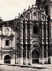 Frontispicio de la Catedral de Santiago Apóstol, ca1900s (jerodamor@yahoo.com.mx) Tags: catedrales saltillo coahuila méxico fotosantiguas